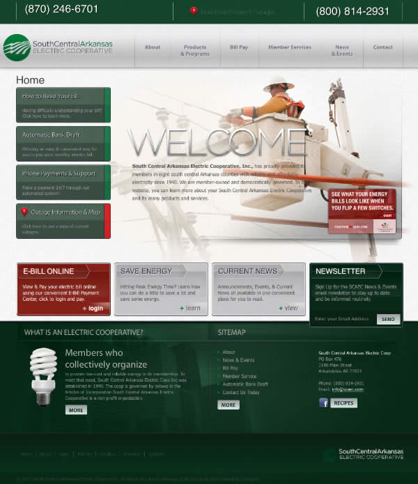Website Redesign of SCAEC