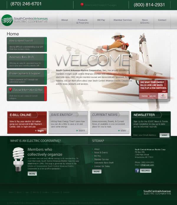 Website Redesign of SCAEC