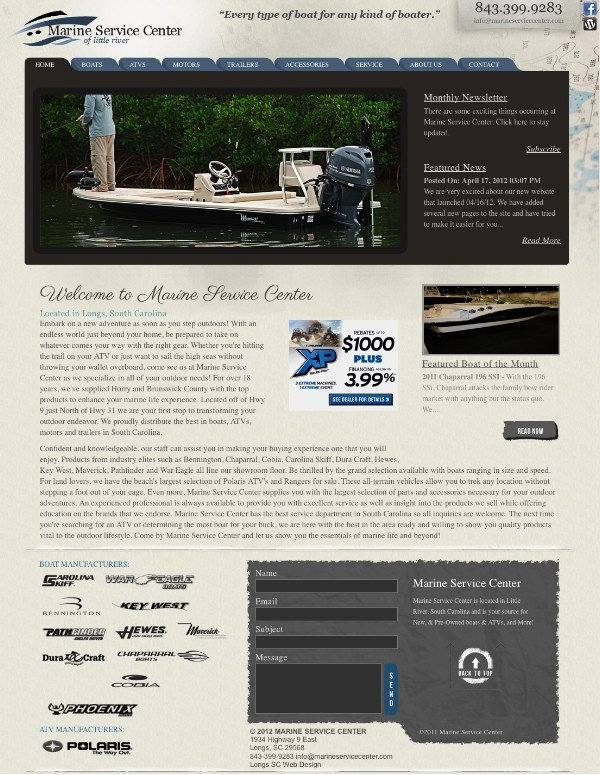 Myrtle Beach boat dealer