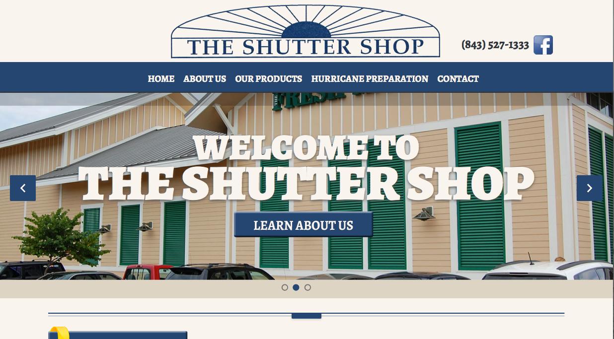 shutter shop