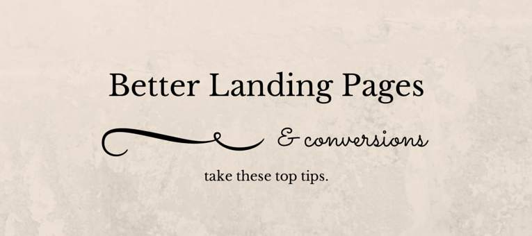 better-landing-pages
