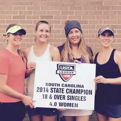 caitlin sc state tennis championship
