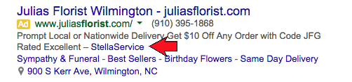 Adwords Review Extension