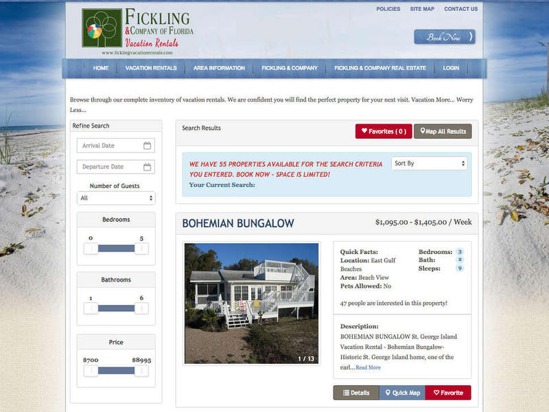 Fickling Booking Engine