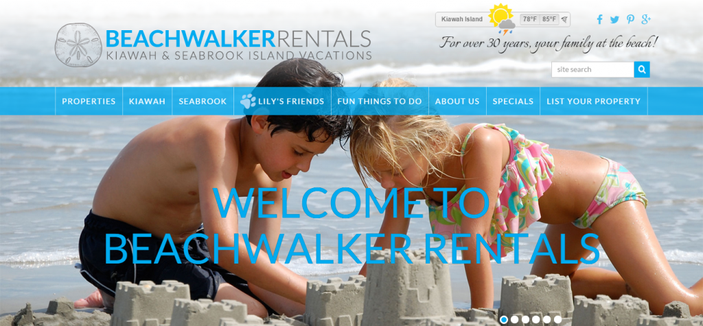Beachwalker Rentals   Kiawah Island Vacation Rentals and Seabrook Island Vacation Rentals