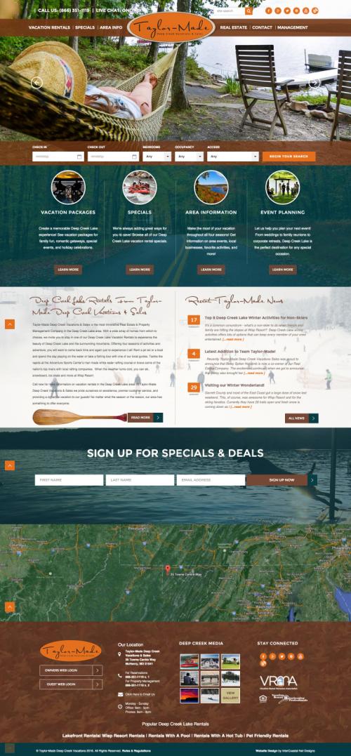 ICND beautiful websites