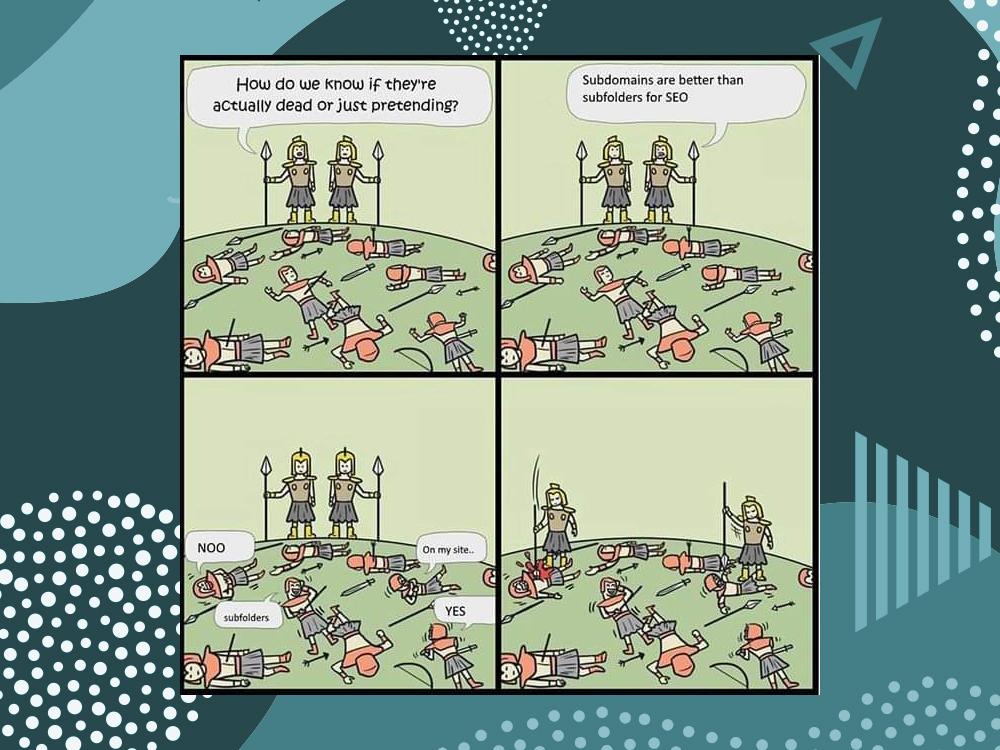 Subdomains vs Subfolders