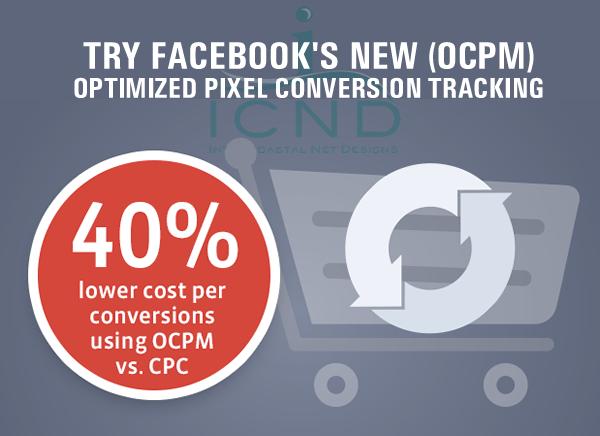 New Facebook Advertising Conversion Tracking (OCPM